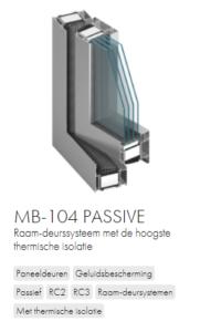AluProf MB-104 passive