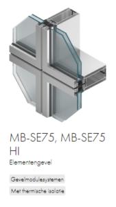 AluProf MB-SE75, MB-SE75 HI