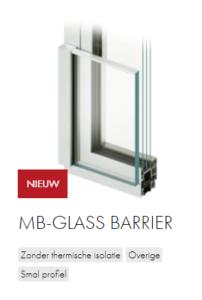 AluProf MB-glass barrier